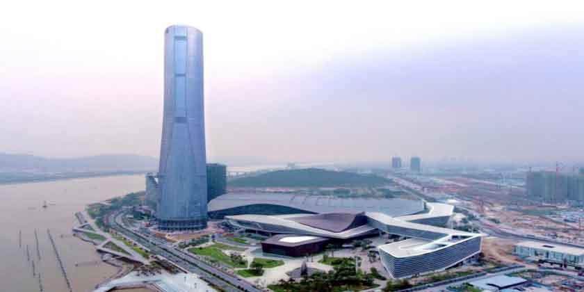 68-этажный небоскреб в городе Чжухай от RMJM построен | фото
