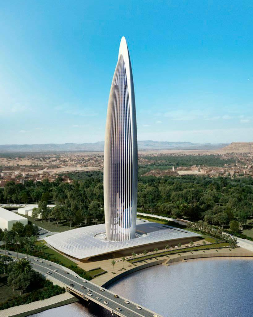Bank of Africa Tower - самый высокий небоскреб Африки