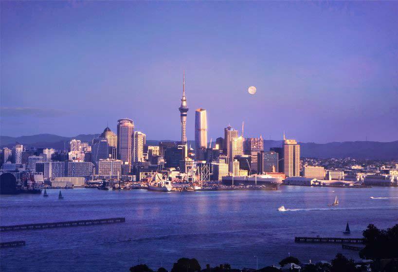 Башни Окленда, Новая Зеландия