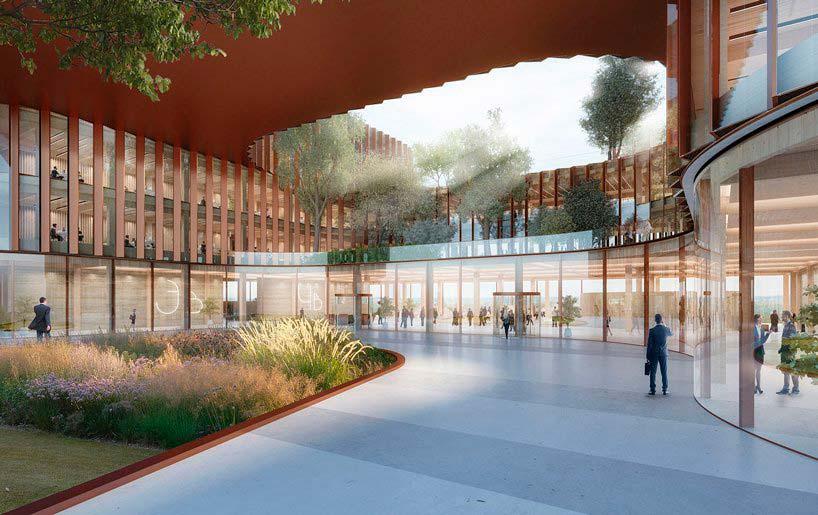 Бизнес-центр площадью 40 000 кв. м. Проект BIG