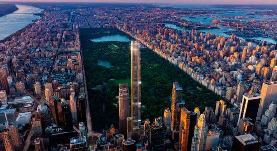 Анонсирована новая башня Central Park Tower в Нью-Йорке
