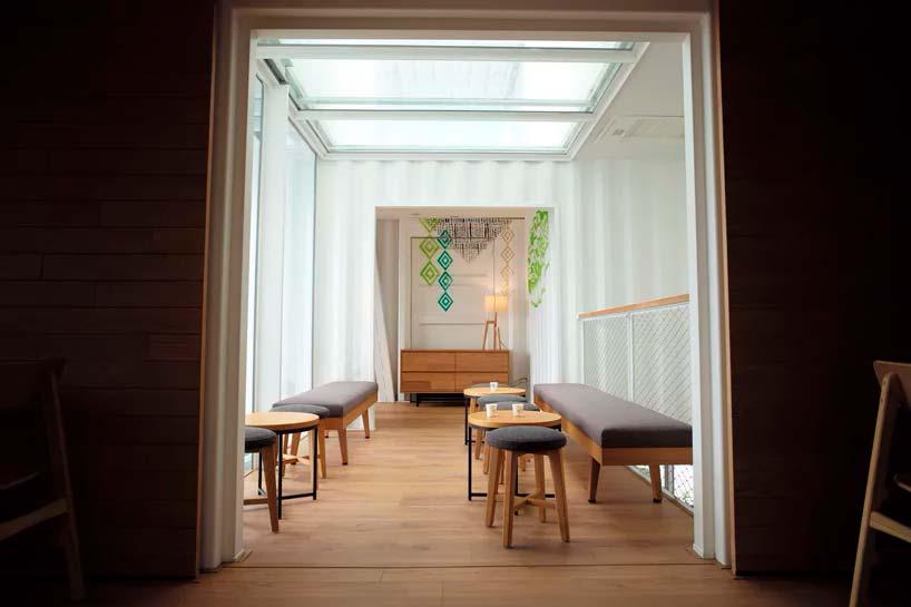 Кофейня Starbucks на Тайване от Kengo Kuma