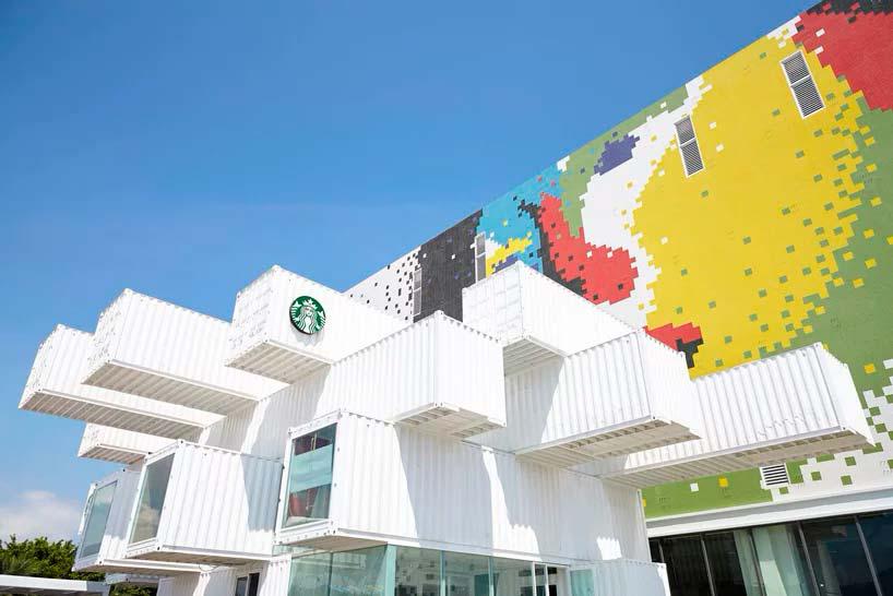 Первая кофейня Starbucks в Азии. Дизайн Kengo Kuma