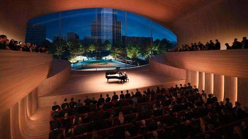 Камерный музыкальный зал на 400 мест