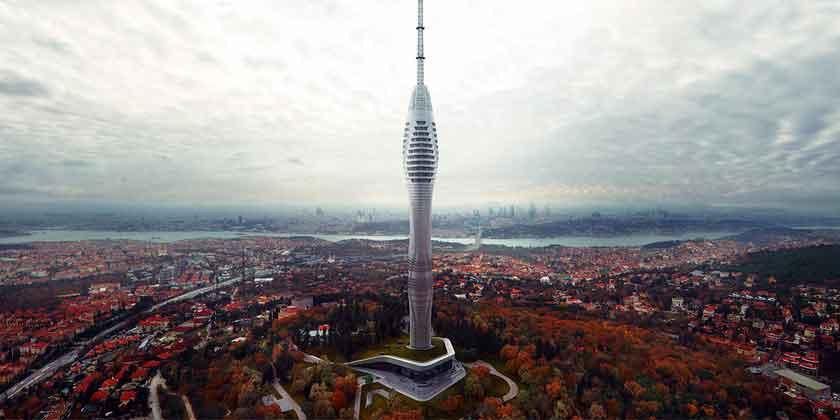 В Стамбуле строится фантастическая телебашня от MAA | фото