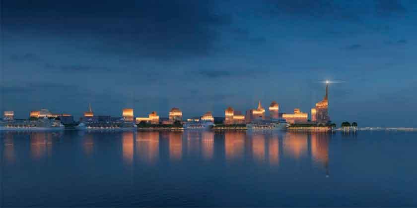 KCAP строят комплекс смешанного использования в Петербурге