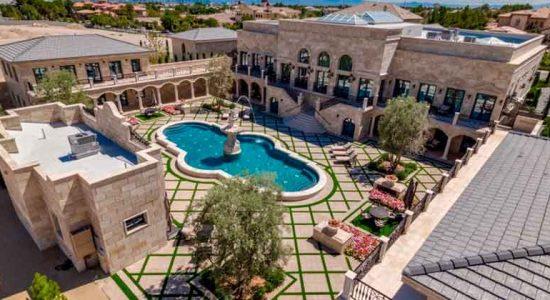 Боксер Флойд Мейвезер купил виллу в Лас-Вегасе | фото и цена