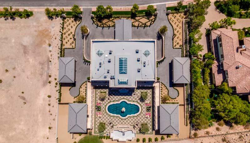 Новый дом Флойда Мейвезера в Лас-Вегасе