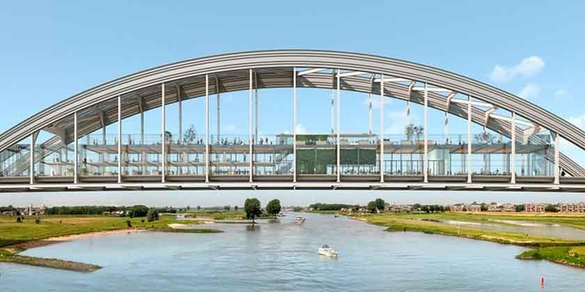 Cepezed Architects превратит старый мост в жилой комплекс
