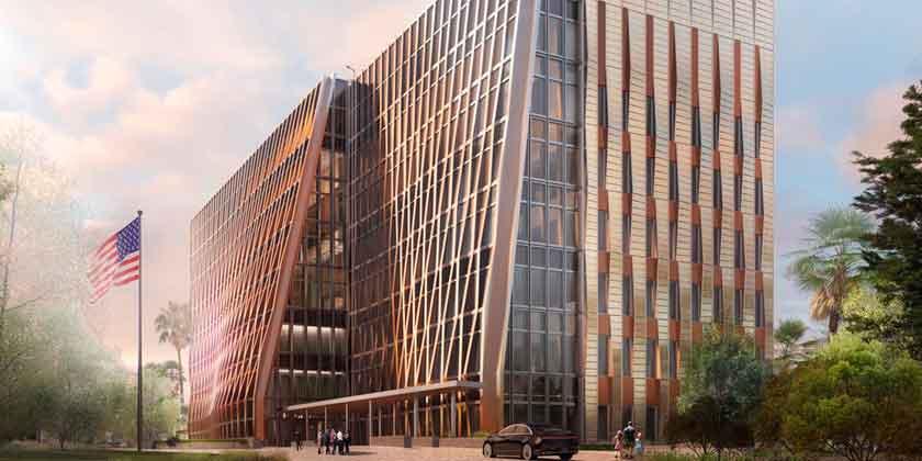 SHoP Architects представило здание Посольства США в Гондурасе