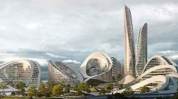 Zaha Hadid Architects построит район на 460 Га в Москве