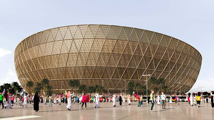 Стадион для Чемпионата мира по футболу 2022 года в Катаре на 80 000 мест