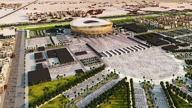 Футбольный стадион на 80 000 мест в Катаре