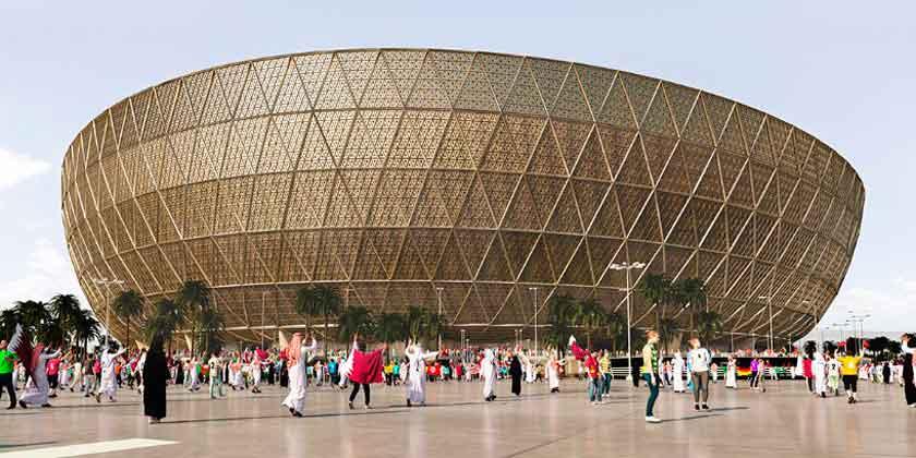 Фостер показал стадион на 80000 мест для ЧМ 2022 в Катаре
