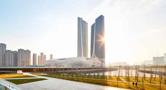 Самые высокие башни Zaha Hadid на новых фото