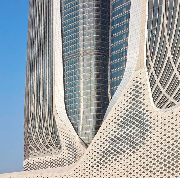 Самые высокие небоскребы Zaha Hadid Architects