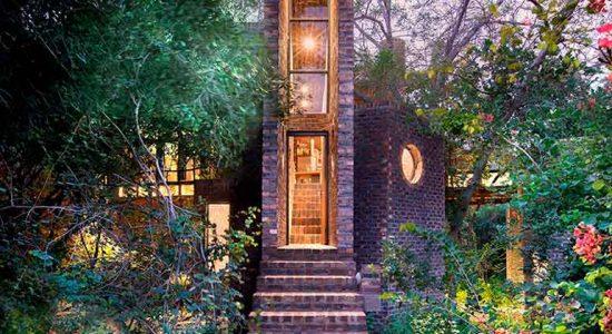Как спрятать дом в лесу? Пример от Frankie Pappas   фото