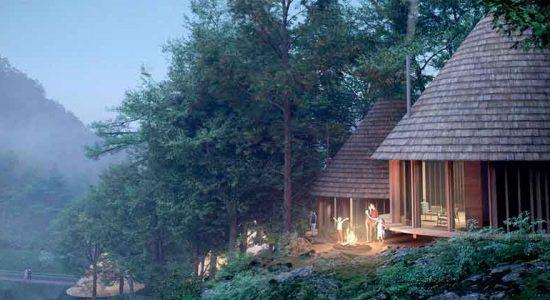 Third Nature построит Кемпинг-парк мечты в Японии | фото