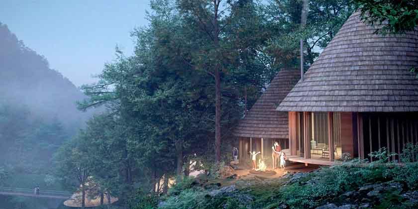 Third Nature построит Кемпинг-парк мечты в Японии   фото