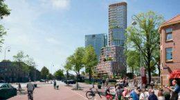 Mecanoo построит в Амстердаме небоскреб Brink Tower