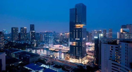 200-метровый небоскреб Prince Plaza открыт в Шэньчжэне | фото