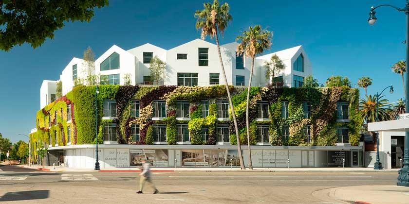GardenHouse — новый жилой комплекс в Лос-Анджелесе от MAD Architects