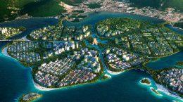 BIG показал генплан застройки группы островов в Малайзии | фото