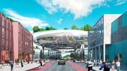 MVRDV построит парящий парк в Карлсруэ, Германия | фото