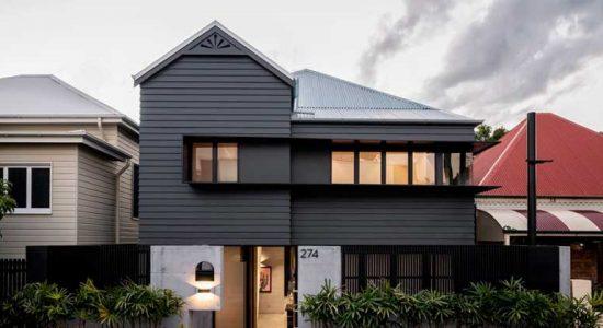 Реставрация старого дома от Shaun Lockyer Architects | фото
