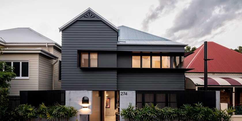 Реставрация старого дома от Shaun Lockyer Architects