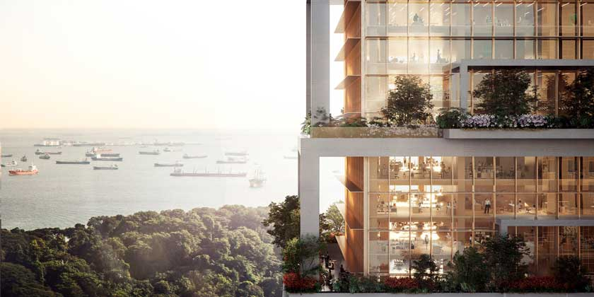 Serie Architects предлагает эко-небоскреб для Сингапура   фото