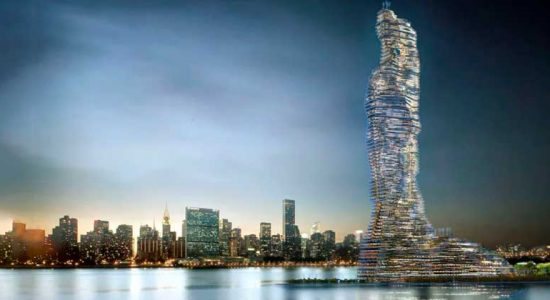 Rescubika представила 737-метровую башню для Нью-Йорка | фото