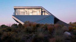 В Неваде построен красивый дом в стиле хай-тек дизайна OPA