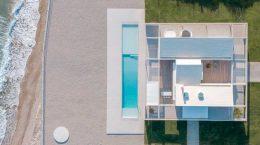 Пляжный дом на Пелопоннесе в Греции от R.C. Tech | фото