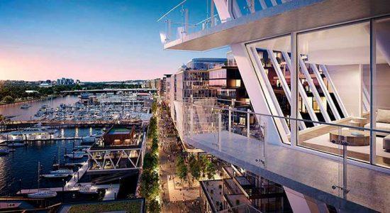 Рафаэль Виньоли готовит новый ЖК для набережной Вашингтона | фото