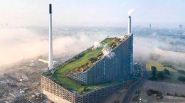Copenhill — мусоросжигательный завод в Копенгагене от BIG