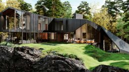 Aston Martin разработал дизайн дома. Цена $7,7 млн | фото
