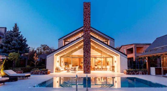 Дом Баррикада по проекту студии Chado | фото