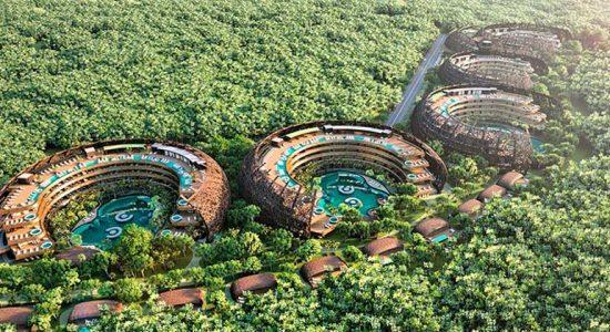 DNA готовит проект эко-курорта и отеля Cocoon для Мексики | фото