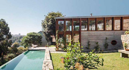 Проект расширения старого дома от Floret Arquitectura | фото