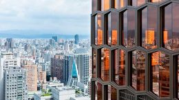 128-метровый небоскрёб La Bella Vita построен на Тайване | фото