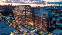 HWKN представила новый офисный кампус для Бруклина | фото