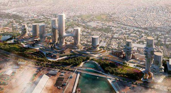 В Салониках могут построить бизнес-кластер с 10 башнями   фото