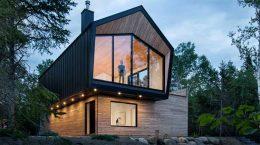 Дом выходного дня в Канаде по проекту Architecture49 | фото