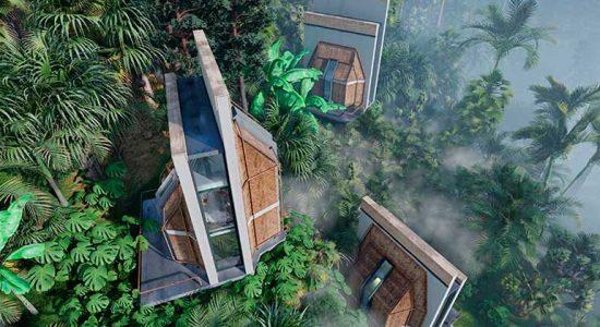 Shomali Design предлагает кластер домов на сваях для Бали