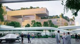 Бюро Захи Хадид готовит генплан застройки порта в Шэньчжэне