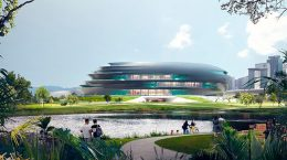 Бюро Zaha Hadid представило Музей науки и технологий Шэньчжэня