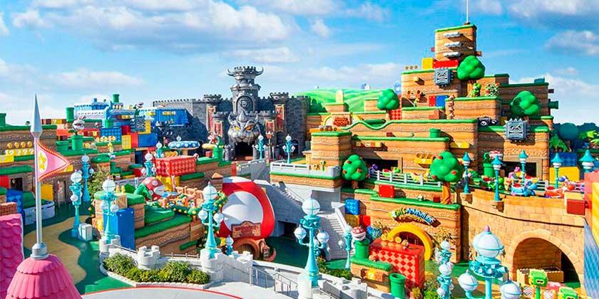 Disney открывает в Японии парк развлечений Super Nintendo World