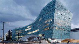 В Париже построен новый дом газеты Le Monde от Snøhetta | фото