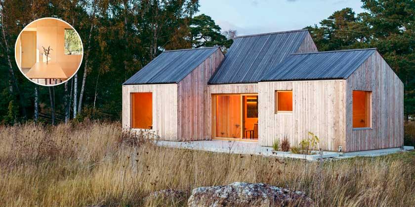 Модульный деревянный дом. Проект Lookofsky Architecture | фото